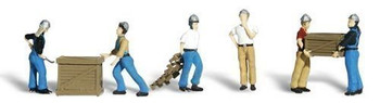 Woodland Scenics O Dock Workers WOOA2729