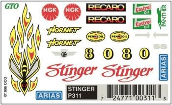 PineCar P311 STINGER DRY TRANSFER