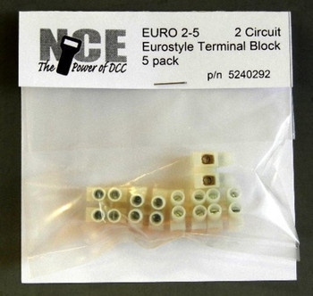 NCE 5240292 EURO2-5 TERM STRIP 5/PK