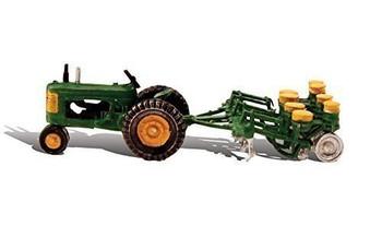 Woodland Scenics HO Tractor & Planter WOOAS5565