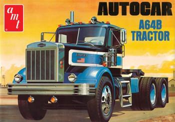 AMT 1099 1:25 Autocar A64B Semi Tractor Model Kit