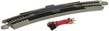 Bachmann 44502 HO Scale E-Z Track 18Radius Curved Terminal Rerailer with Wire