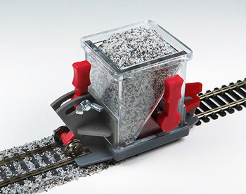Bachmann 39016 HO Scale Ballast Spreader With Shutoff And Height Adjustment