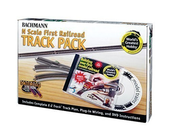 Bachmann 44896 N Scale E-Z Track World's Greatest bby Track Pack