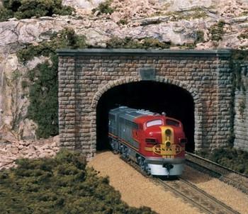 Cut Stone HO Tunnel Portals Woodland Scenics by Woodland Scenics