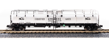 Broadway Limited 3726 N NCG Cryogenic Tank Car (Pack of 2)