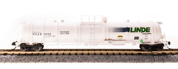 Broadway Limited 3731 N Scale Cryogenic Tank Car Linde