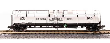 Broadway Limited 3733 N Scale Cryogenic Tank Car NCG Single Car (#80018)