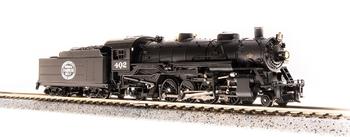 Broadway Limited 5724 N New York Central USRA Light Mikado Steam Loco Sound #402