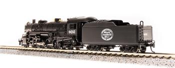 Broadway Limited 5725 N New York Central USRA Light Mikado Steam Loco Sound #404