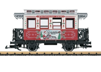 LGB 36019 G Scale 2019 Christmas Car