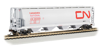 Bachmann 19113 HO Scale Canadian National 4 Bay Cylindrical Grain Hopper
