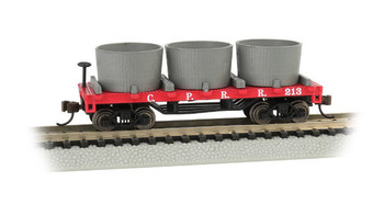 Bachmann 15552 N Scale  CENTRAL PACIFIC - OLD-TIME WATER TANK CAR