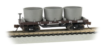Bachmann 15553 N  Scale UNION PACIFIC - OLD-TIME WATER TANK CAR