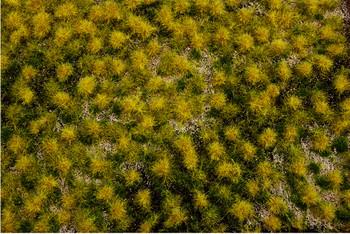 """Bachmann 32925 DRY GRASS TUFTED GRASS MAT (ONE 11.75"""" X 7.5"""" SHEET)"""