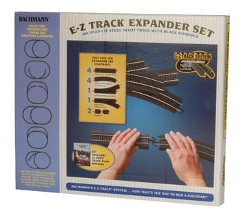 Bachmann HO Scale NICKEL SILVER LAYOUT EXPANDER SET