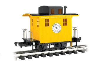 Bachmann 98087 Large Scale Short Line Railroad Caboose Li'l Big Haulers