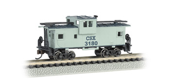 Bachmann 70755 N Scale CSX #3180 - 36' WIDE-VISION CABOOSE