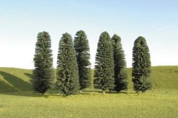 "Bachmann 32205 O Scale 8""- 10"" CEDAR TREES (3 per box)"