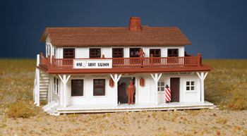 Bachmann 45162 HO Scale Industries Saloon and Barber Shop