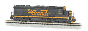 Bachmann 66453 N Scale RIO GRANDE #5336 (LARGE FLYING GRANDE) - SD45 - DCC SOUND VALUE