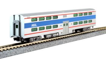 Kato 1560970 N Pullman Two-Level 4-Window Coach Chicago Metra #7836