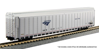 Kato 106-5506 N Scale Autorack Amtrak Auto Train 4-Car Set #4