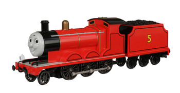 Bachmann 58743 HO Scale Trains Thomas And Friends  James The Red Engine With Moving Eyes
