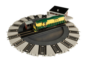 Bachmann 46298 HO Scale E-Z Track Turntable DCC Equipped