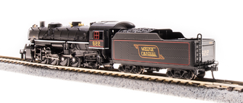 Broadway Limited 5973 N USRA Light Mikado Maine Central #624 Sound/DC/DCC