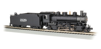 Bachmann 51529 HO Scale Santa Fe #2129 - 2-6-2 Prairie