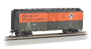 Bachmann 16001 HO Scale Great Northern #2357 40' Box Car
