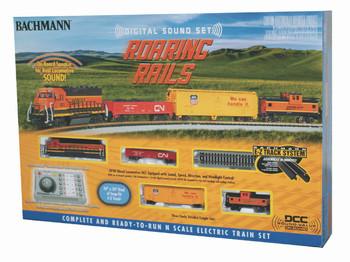 Bachmann 24132 N Scale Roaring Rails with Digital Sound