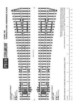 Peco SL-89 HO Scale HO L/H T/O #8 Code 100NS Insulated