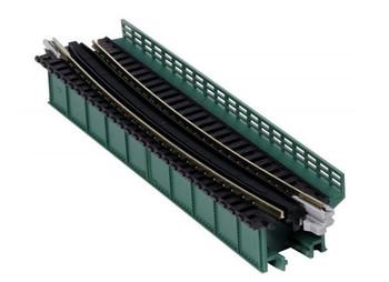 Kato 20-466 N Scale Single Curve Girder Bridge Green  448 mm 17.6 Radius