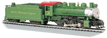 Bachmann Industries Trains Usra 0-6-0 With Smoke & Short Haul Tender Smoky Mountain #99 Ho Scale Steam Locomotive