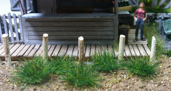 Bachmann 31032 Scenery SceneScapes Grass Tufts, Dark Green, 6mm