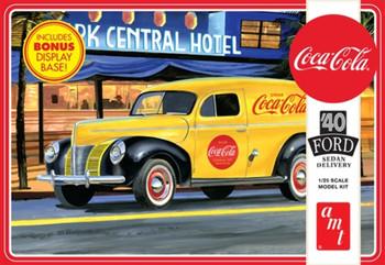 AMT 1161 1:25 1940 Ford Sedan Delivery (Coca-Cola) Model Kit