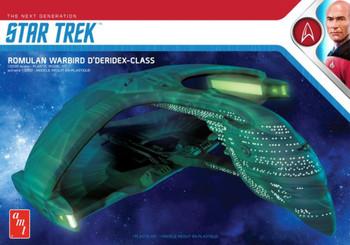 AMT 1125 1:3200 Star Trek Romulan Warbird Model Kit