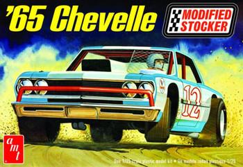 AMT 1177 1:25 1965 Chevelle Modified Stocker Model Kit