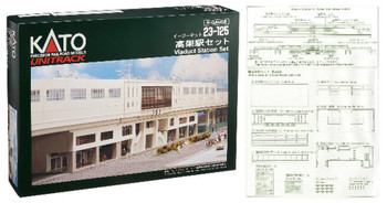 Kato 23-125 N Scale Viaduct Station Set