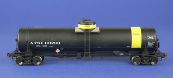American Limited Models 1842 HO Scale Gasoline Service Tank Car, ATSF #101290