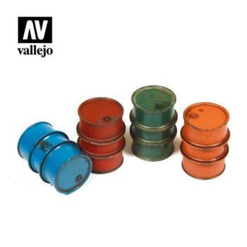 Vallejo SC203 Civilian Fuel Drums