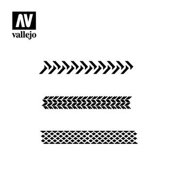 Vallejo ST-TX002 Tyre Markings