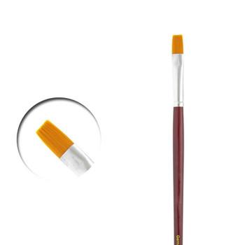 Vallejo PM05004 Flat Rectangular Brush No. 4 Toray Paint Brush