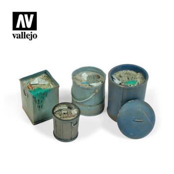 Vallejo SC213 Assorted Garbage Bins (no. 2)