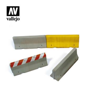 Vallejo SC214 Concrete Barriers