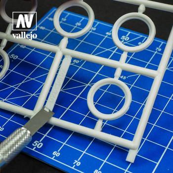 Vallejo T06004 Set of 5 Blades ? #17 Chisel blades