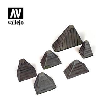 Vallejo SC219 H?ckerhindernis (Anti-Tank Barriers)