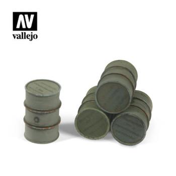 Vallejo SC205 Wehrmacht Fuel Drums